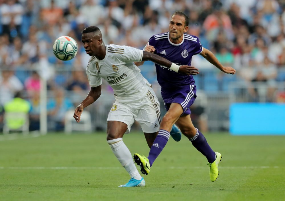 Vinicius Receives High Praise From Real Boss