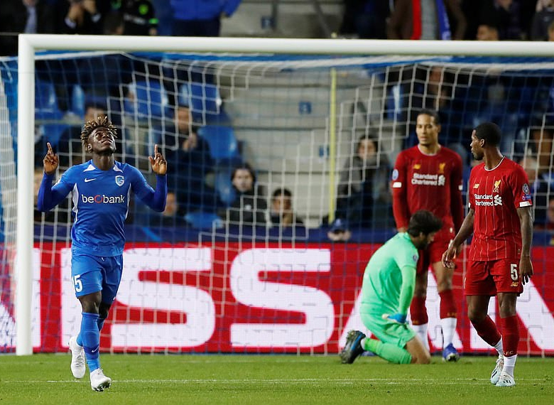Odey Dedicates First UCL Goal Vs Liverpool To Beloved Mother