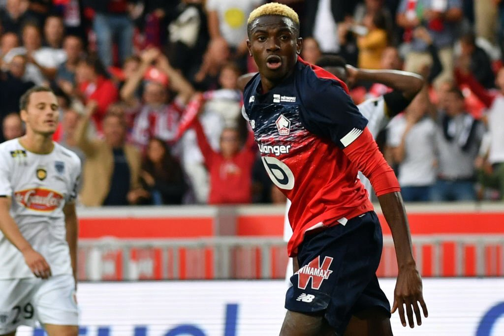 Osimhen Scoops French Ligue 1 Player Of The Month For September