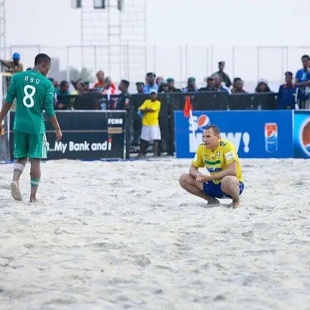 Brazil, England For Copa Lagos 2019 Beach Soccer Tournament