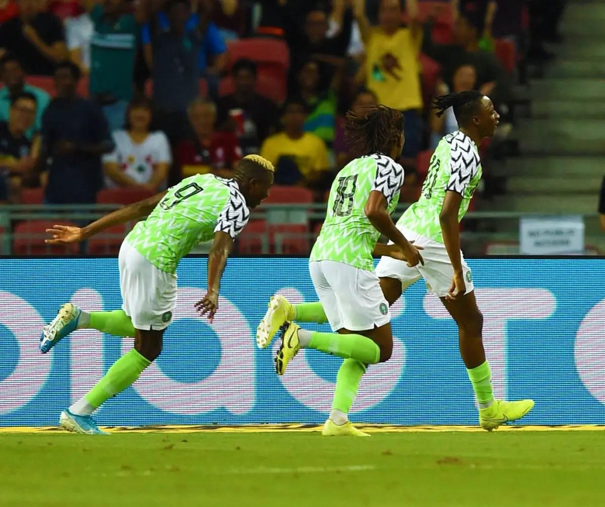 Iroha: Eagles Showed Character, Organization  Against Brazil