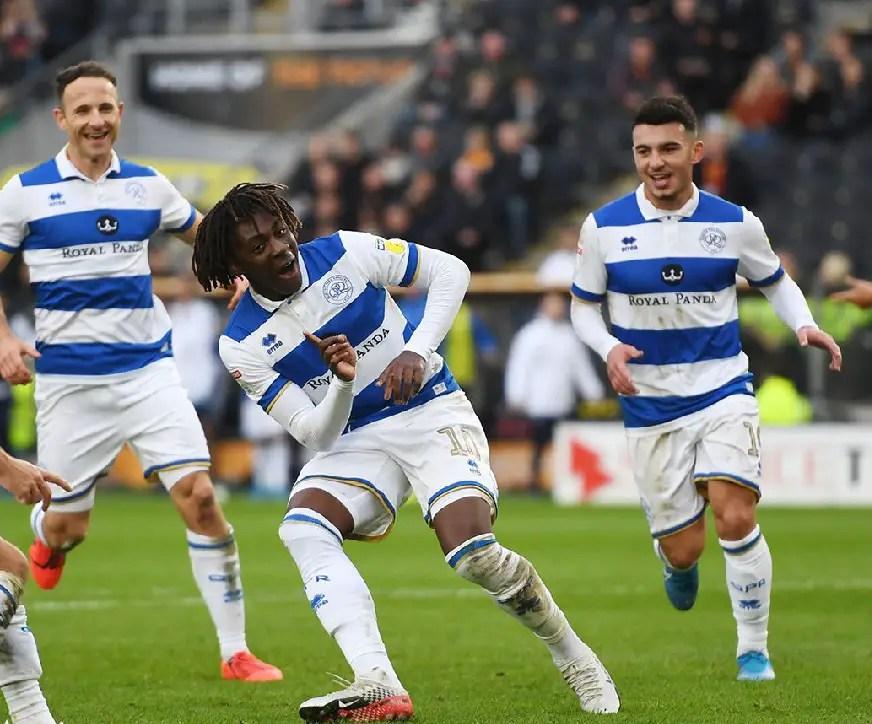 Championship: Eze Bags Brace In QPR Away Win; Ajayi, Etebo Also Make Winning Teams