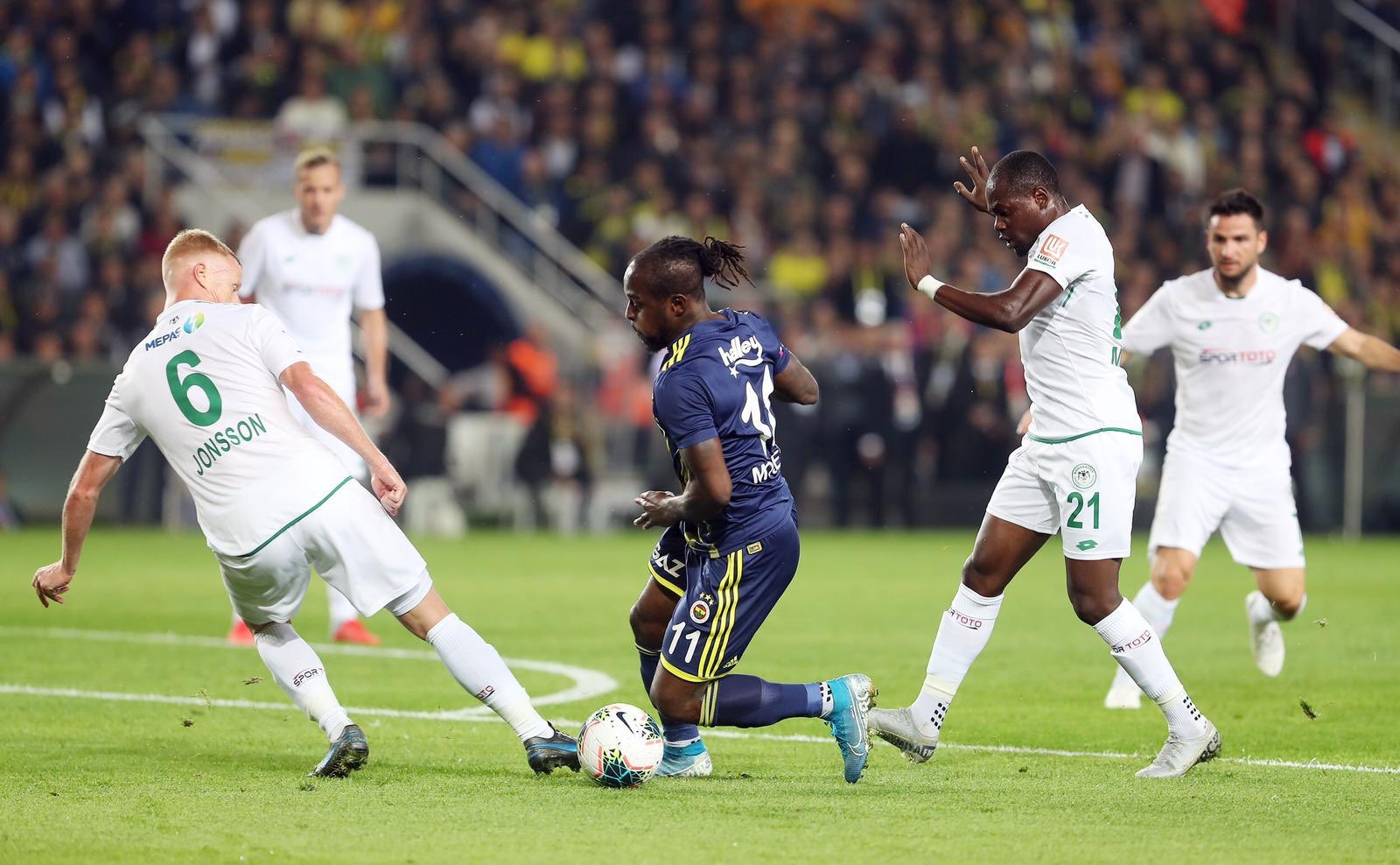 Moses Happy To Make Fenerbahce Return After Injury Layoff