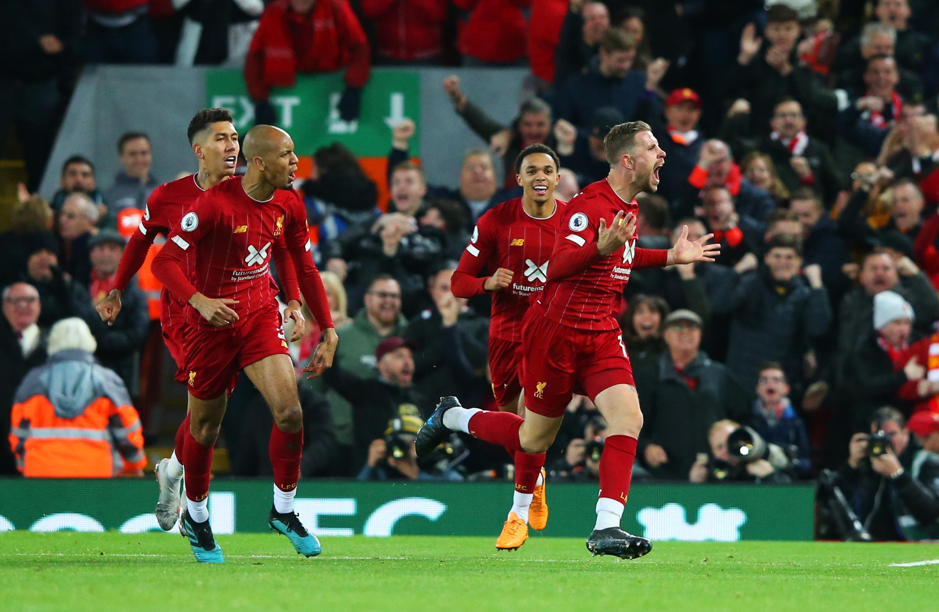 EPL: Liverpool Edge Out Spurs;  Man United Beat Norwich, Palace Hold Arsenal