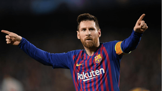 Slide: Messi Lists Top 5 Favourites to Win 2019/20 Champions League. No. 4 will surprise you