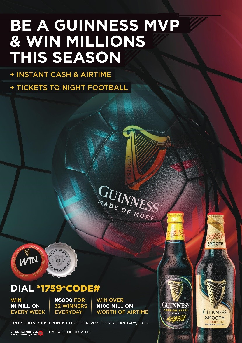 Guinness Foreign Extra Stout Kicks Off Most Valuable Player Promotion