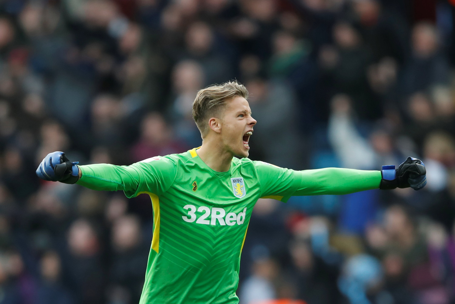 Nyland ready And Waiting For Villa Chance