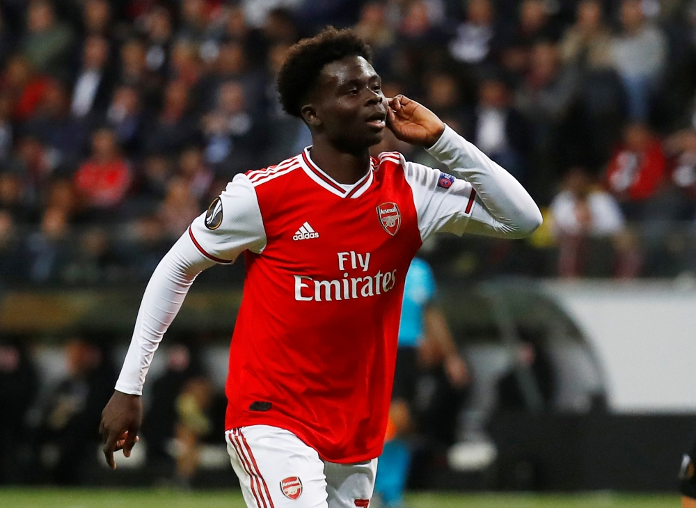 Saka Ready To Scrap It Out With Lacazette