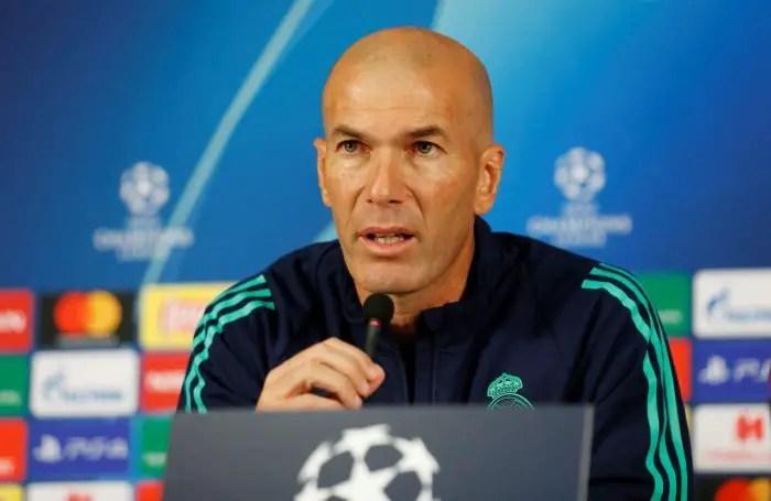 Zidane Ignoring Real Future Rumours