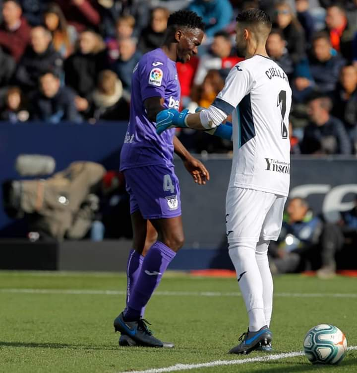 Omeruo Targets Quick Return To Action With  Leganes After  Injury Setback