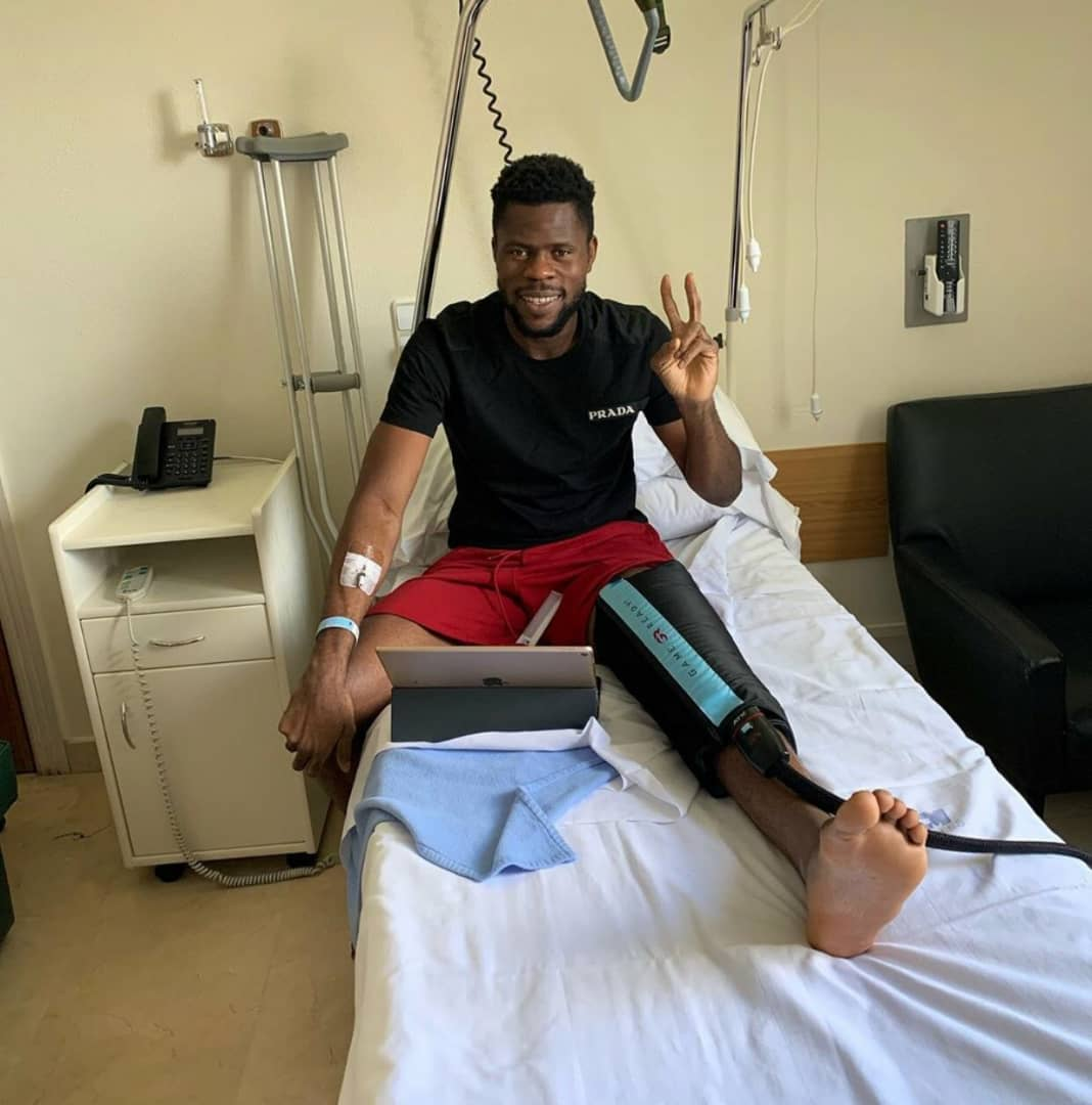 Uzoho Happy With Successful knee Surgery, Prays For Final Healing