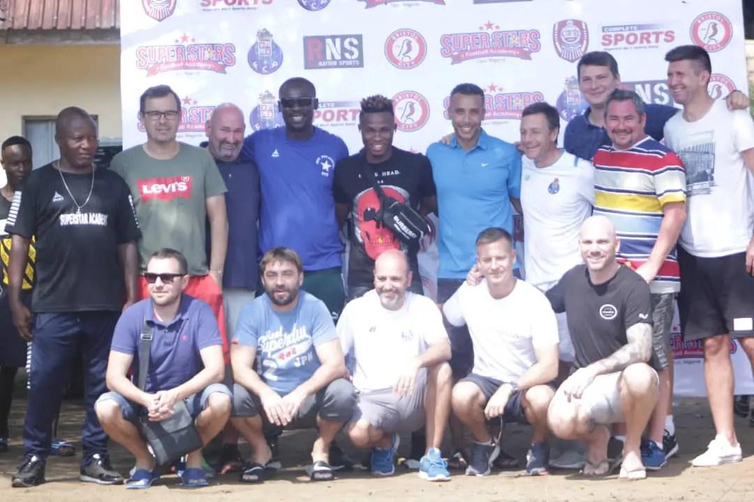 Chukwueze, Pinnick, Top Foreign Scouts Grace 2019 Super Stars Tournament