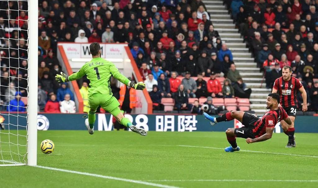 Bournemouth End Man United's 3-Match Winning Run