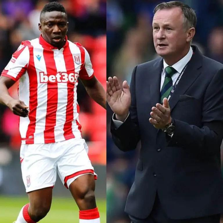 Etebo Gets New Coach O'Neill At Stoke City