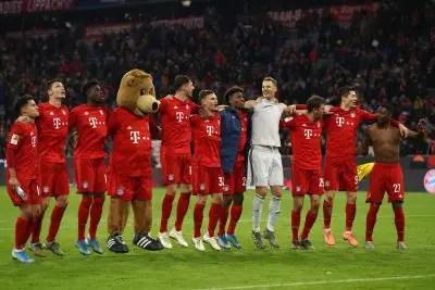 Bayern Munich had a fantastic finish