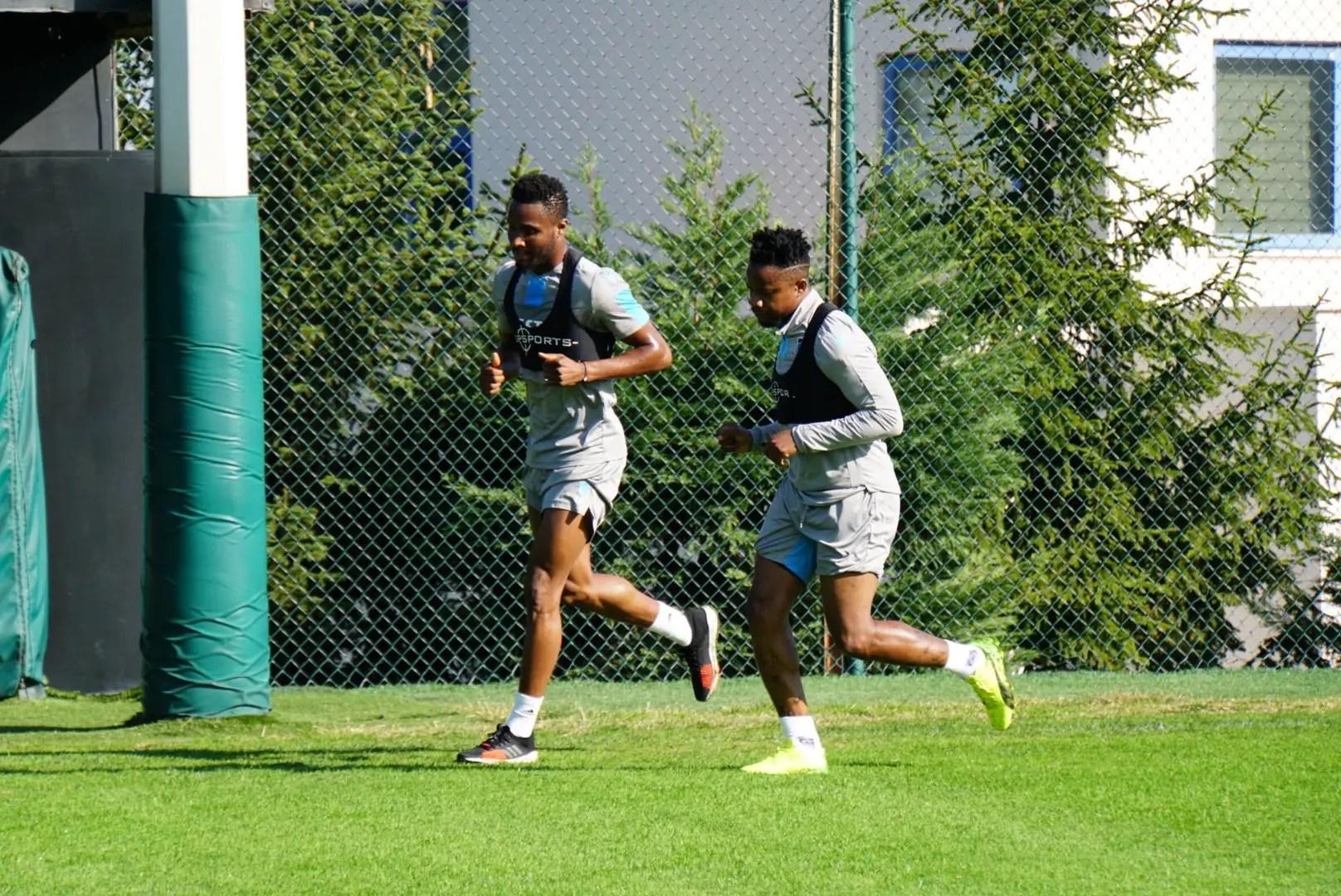 Mikel Returns To Trabzonspor Training After Injury Setback