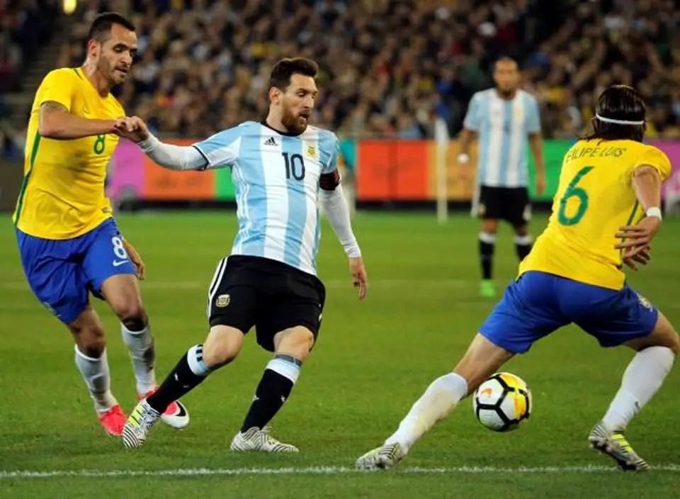 Messi Hails Argentina Versatility After Win Over Brazil