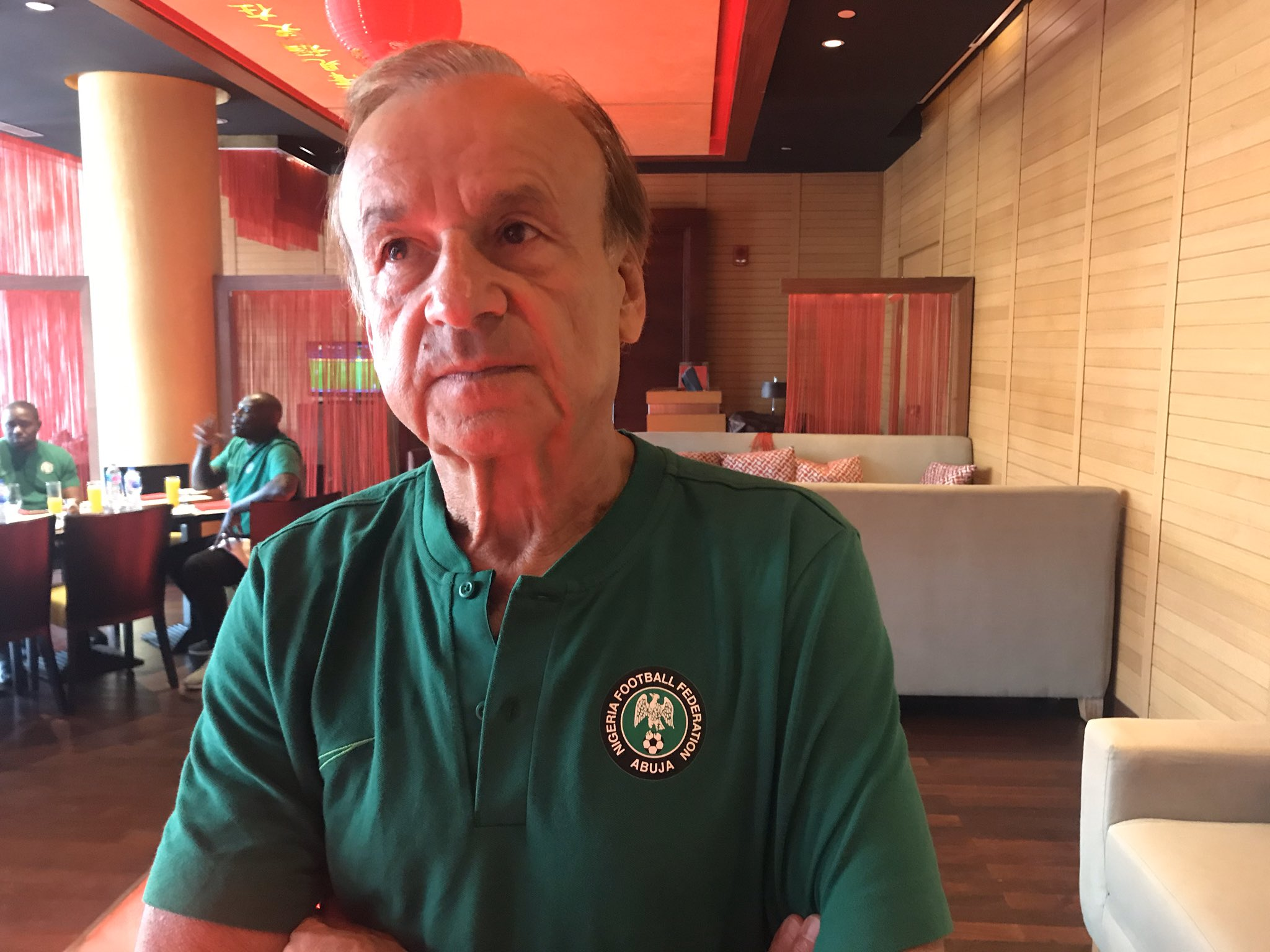Rohr: I Prefer to Concede First and Win Match; Eagles Fight Without Panic