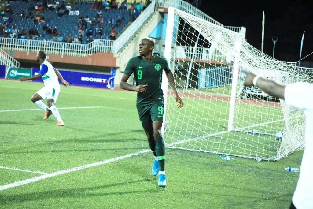 Ighalo Hails Fantastic Osimhen After Impressive Showing Vs Lesotho