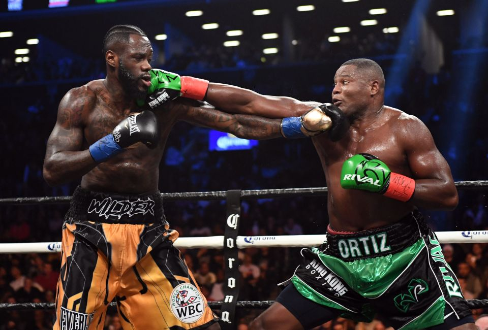 Wilder Knocks Out Ortiz In Rematch