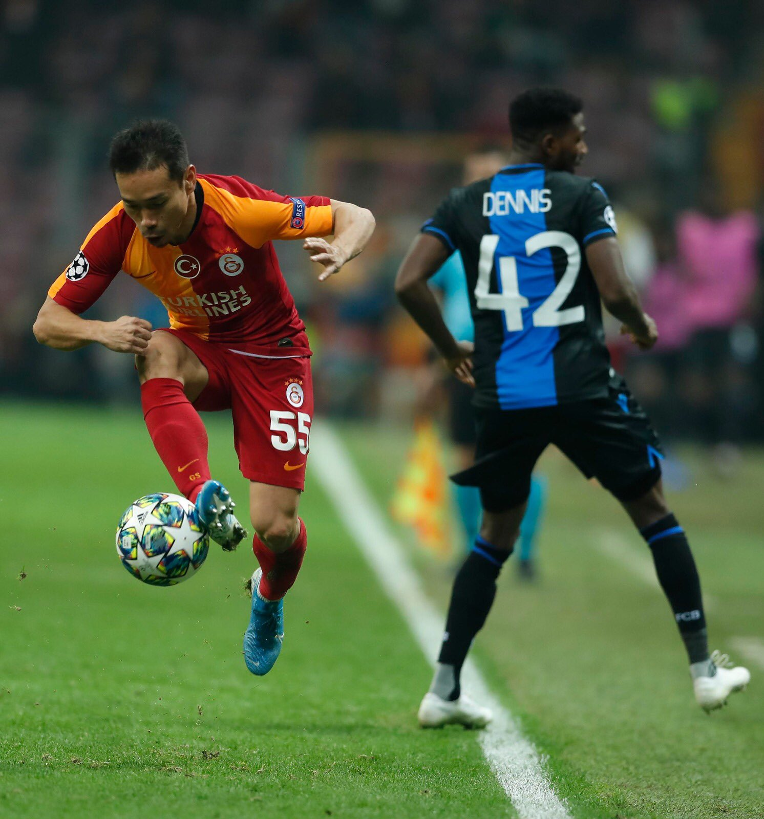 UCL: Dennis, Okereke In Action As Club Brugge Bag Away Draw; Idowu Benched In Locomotiv's Defeat