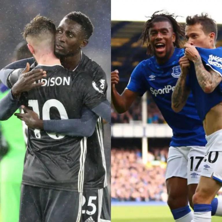 EPL: Ndidi, Iwobi Go Head-to-Head As Leicester, Everton Clash