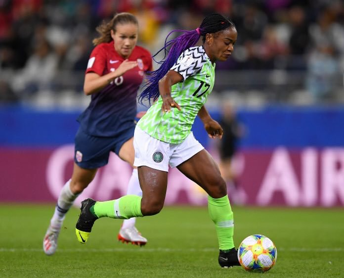 Ordega: Super Falcons Will Bounce Back Stronger After Tokyo 2020 Olympics Failure
