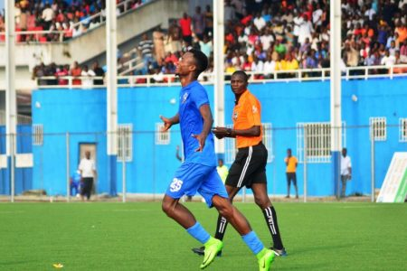 Mbaoma Targets More Goals For Enyimba After Netting Brace Vs Adamawa United