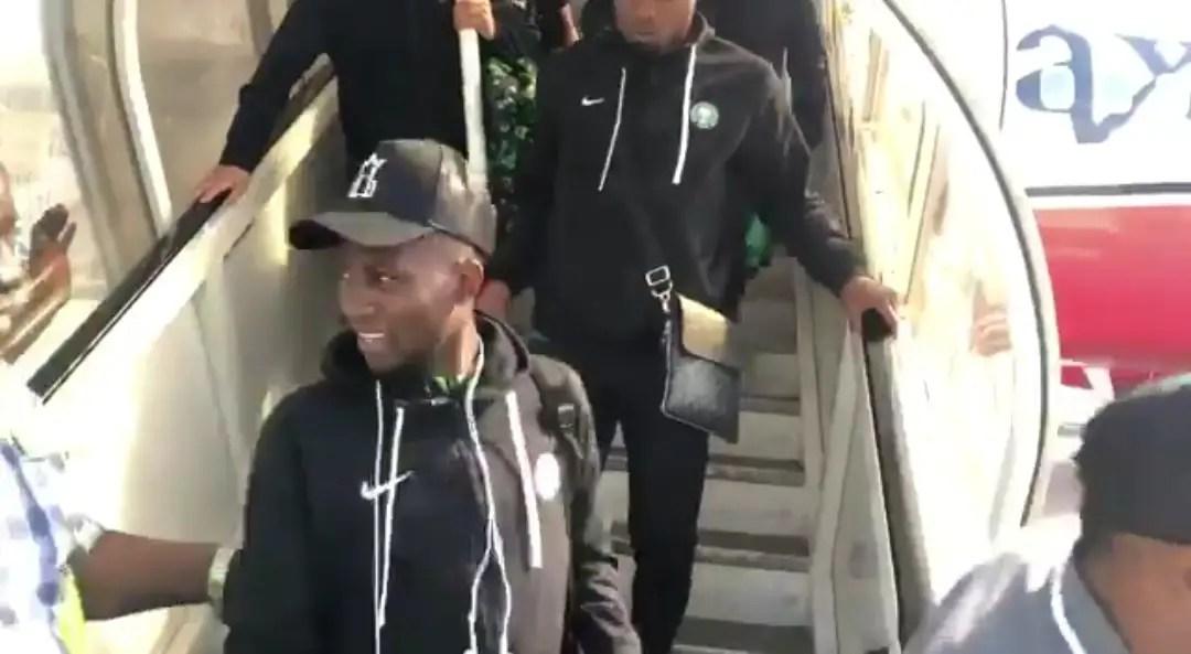 Super Eagles Back In Abuja From Maseru; Host Sierra Leone in August 2020