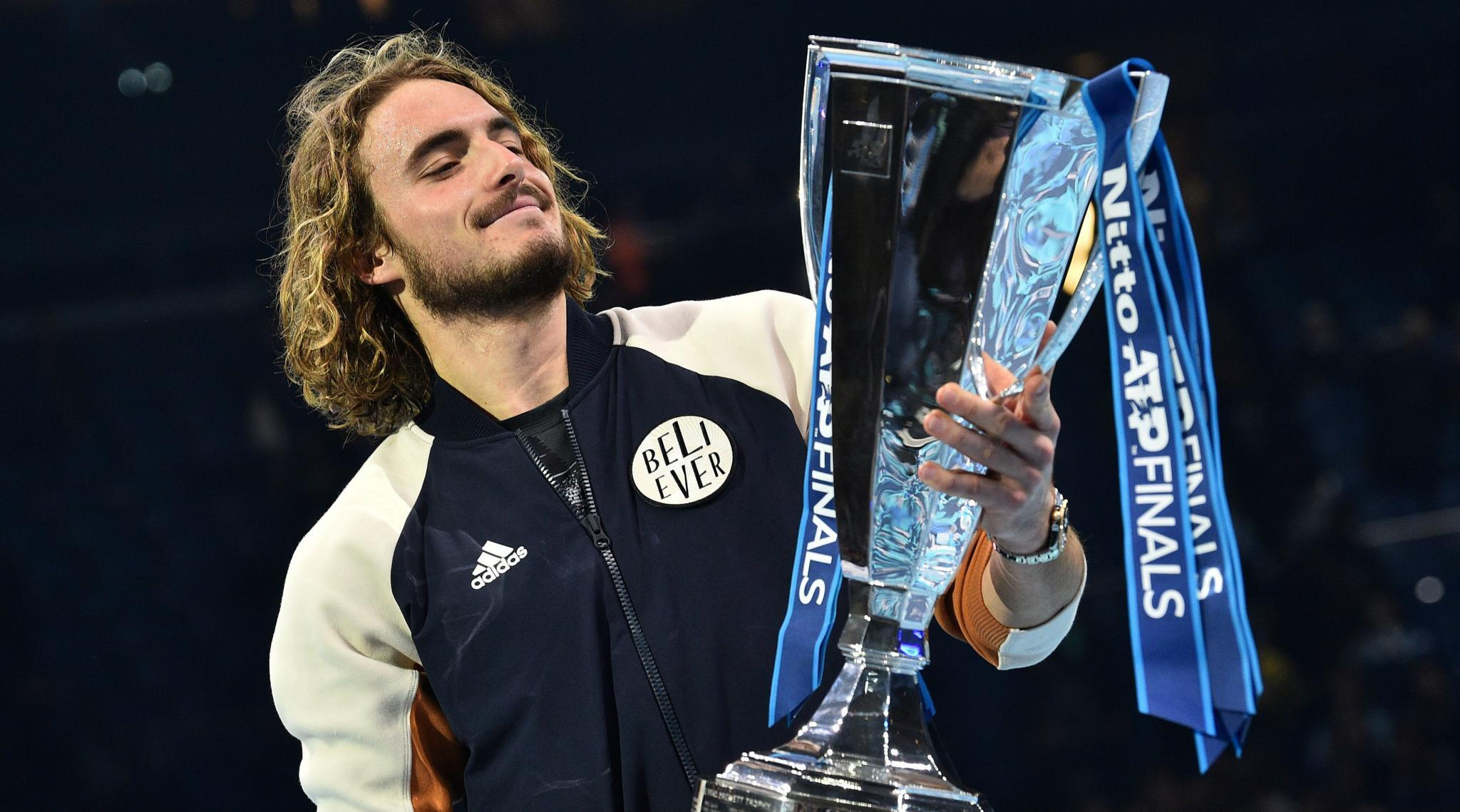 Tsitsipas Eager To Rule In Grand Slam After ATP Finals Win