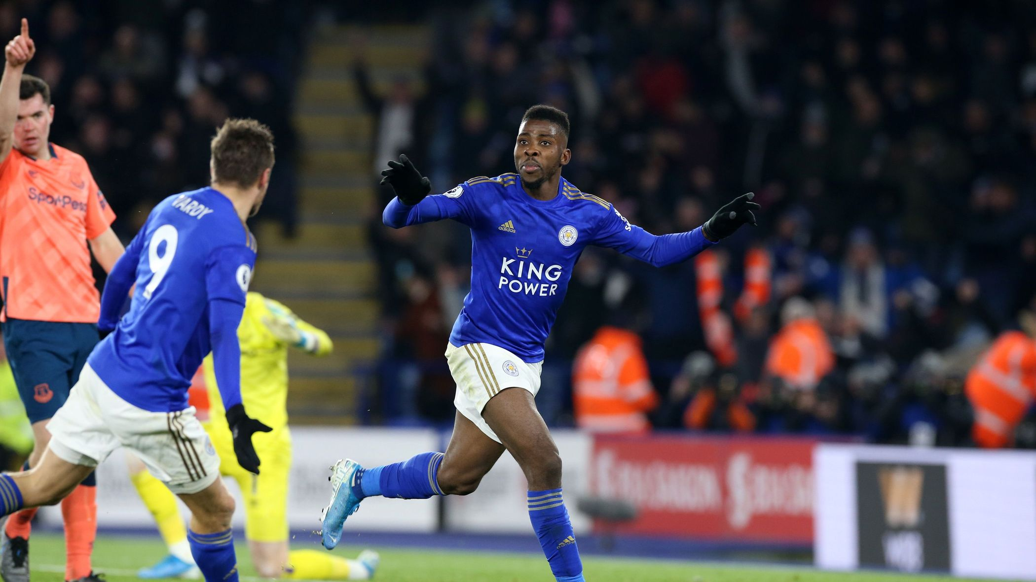 Iheanacho Bags Assist And Late Winner As Leicester Pip Everton  2-1 At Home