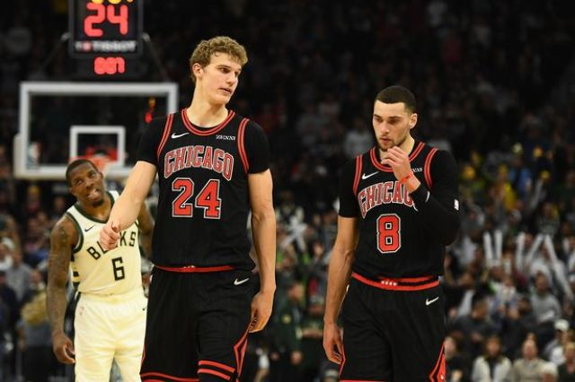 Bucks Come To Town To Meet Zach LaVine And The Bulls At The United Center