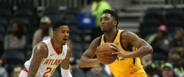 Donovan Mitchell's Jazz to Face Hawks At State Farm Arena