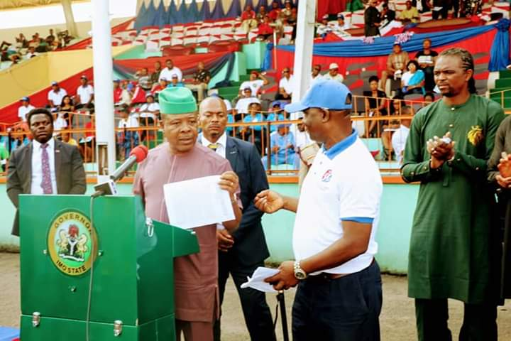 Ihedioha Flags Off 13th Imo Sports Festival, Woos 'Runaway' Athletes