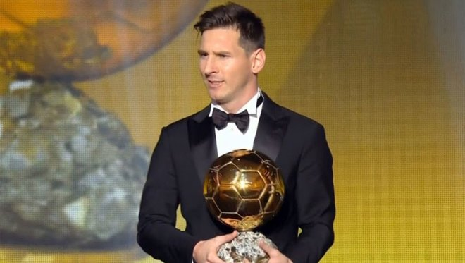 Messi Makes Ballon d'Or History, Chukuweze Misses Out On Kopa Trophy