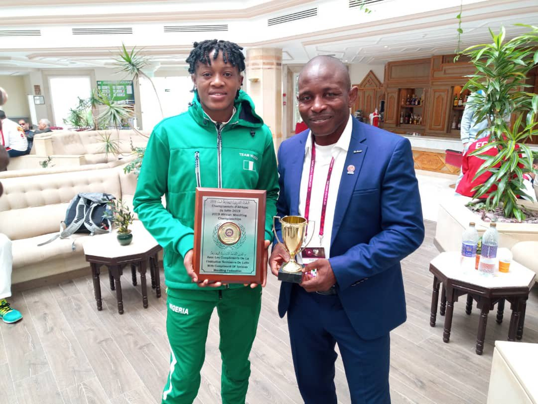 Igali Rates Nigerian Wrestling In 2019 Outstanding