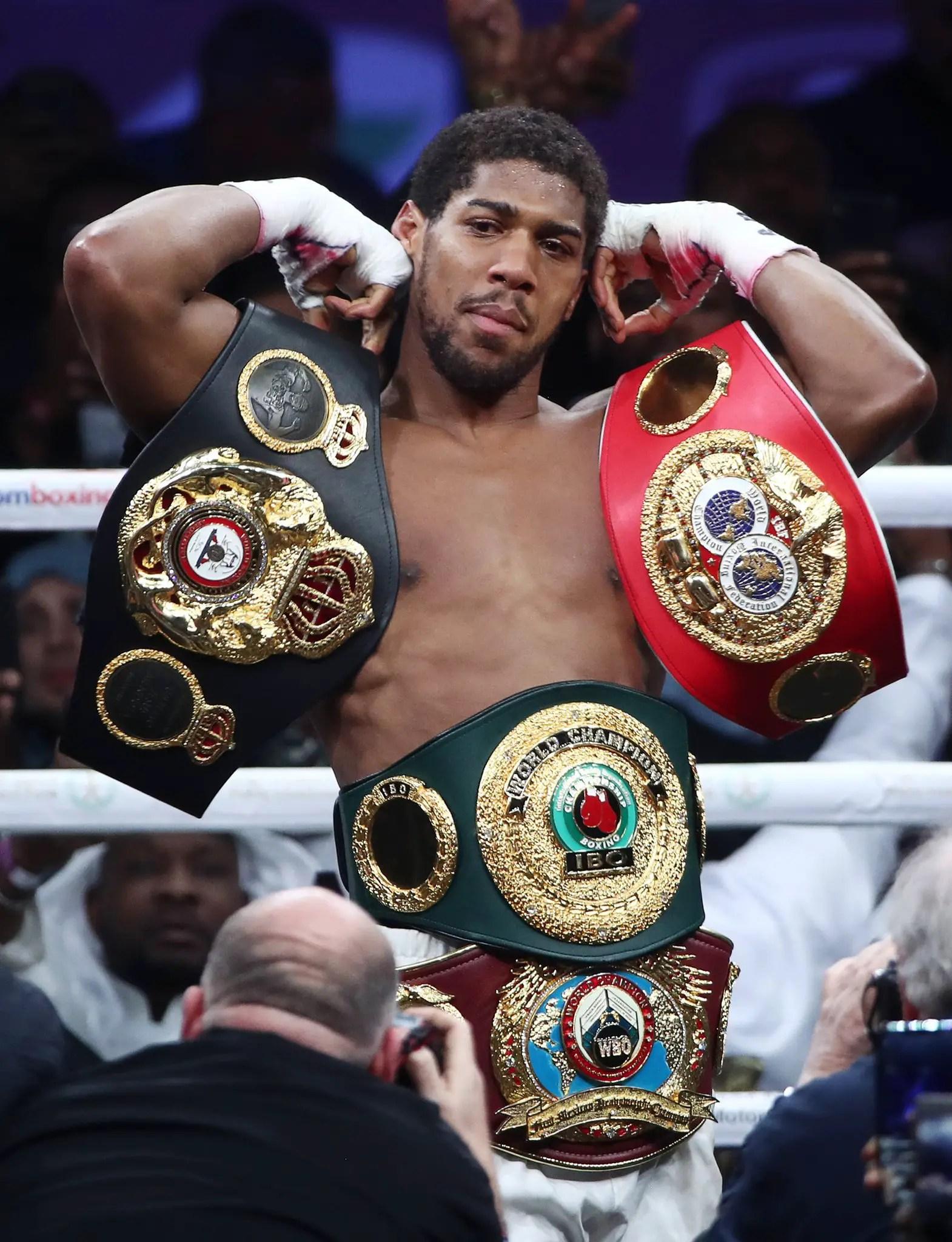 British-Nigeria Boxer to Present Belts to President Buhari