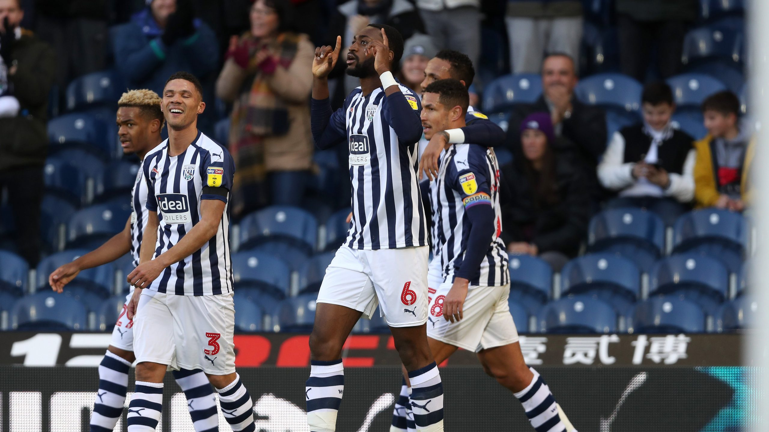 Ajayi  Targets More Goals  For West Brom After Scoring  Feat  Vs Swansea