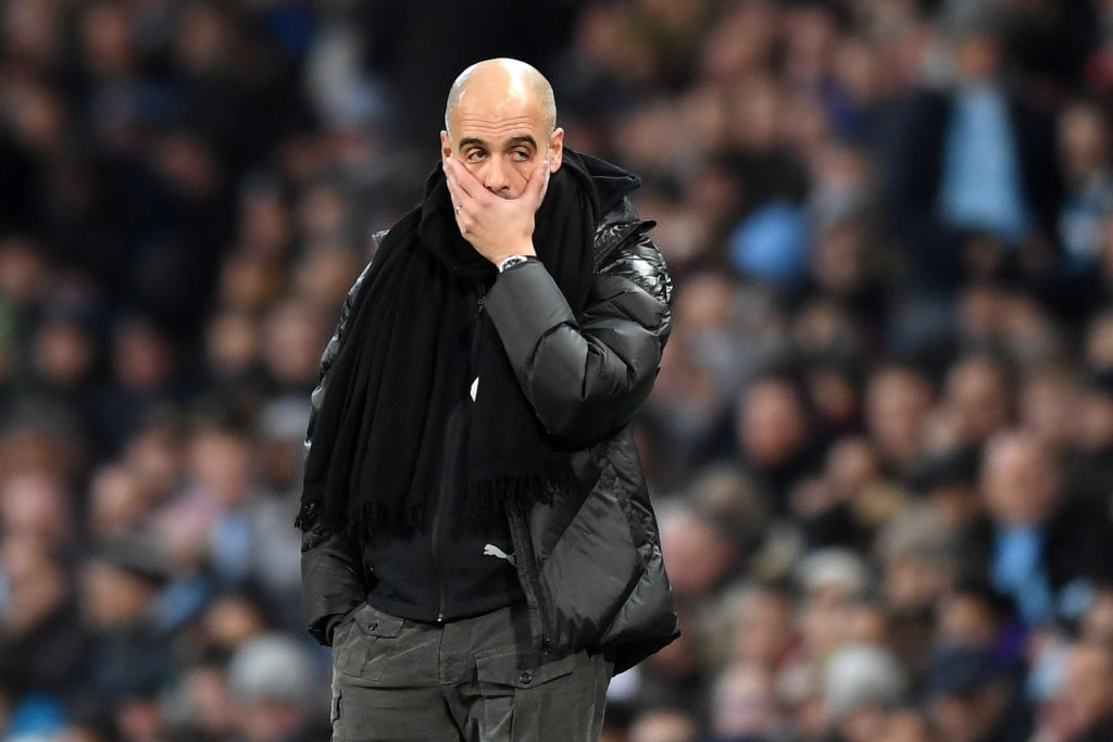 Manchester City Suffer Double Injury Blow
