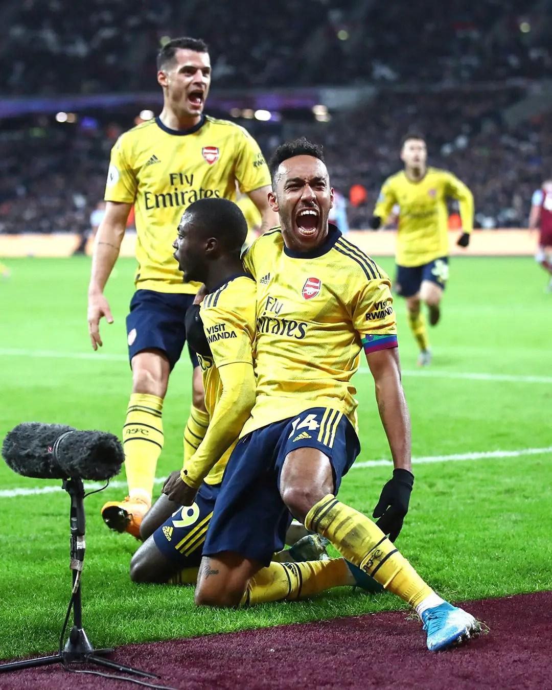 Struggling Arsenal Defeat West Ham To End Winless Streak