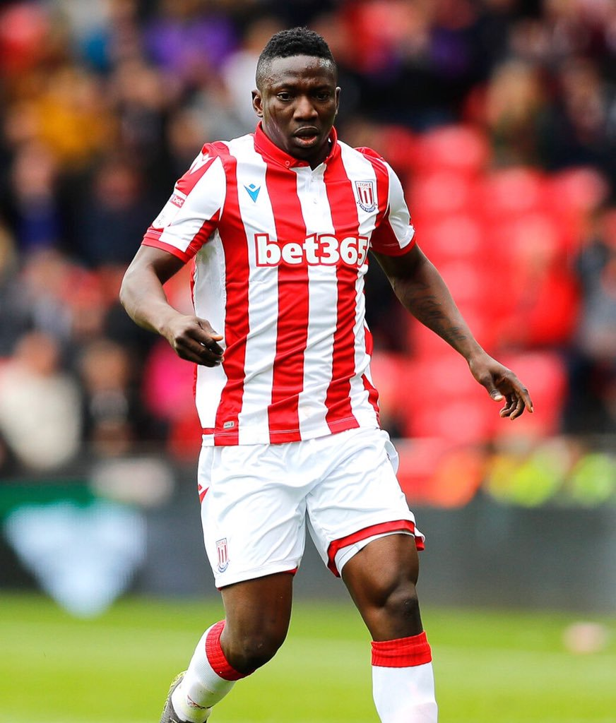 Etebo Unhappy With Lack Of Playing Time At Stoke City