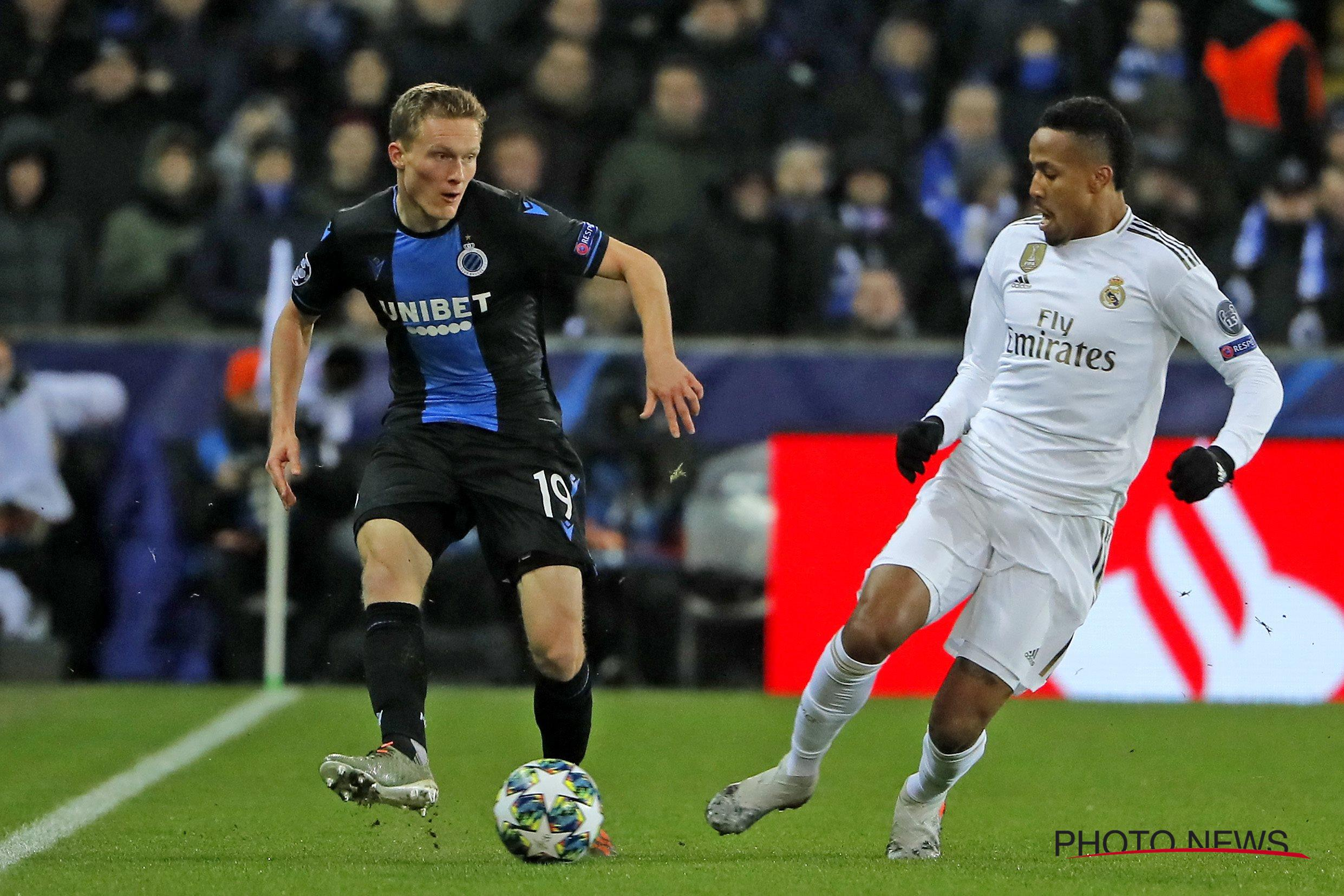UCL: Dennis Grabs Assist  In Club Brugge's Home Loss To Real Madrid; Idowu  Falls  With Locomotiv