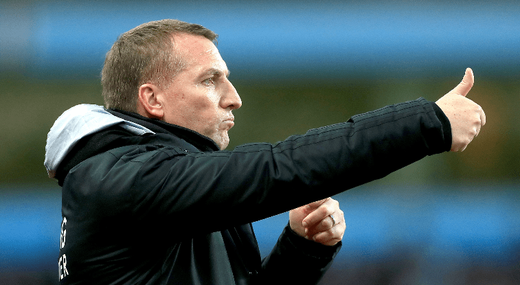 Rodgers Plays Down Iheanacho's Early Substitution In Leicester  City's  Draw Vs Norwich