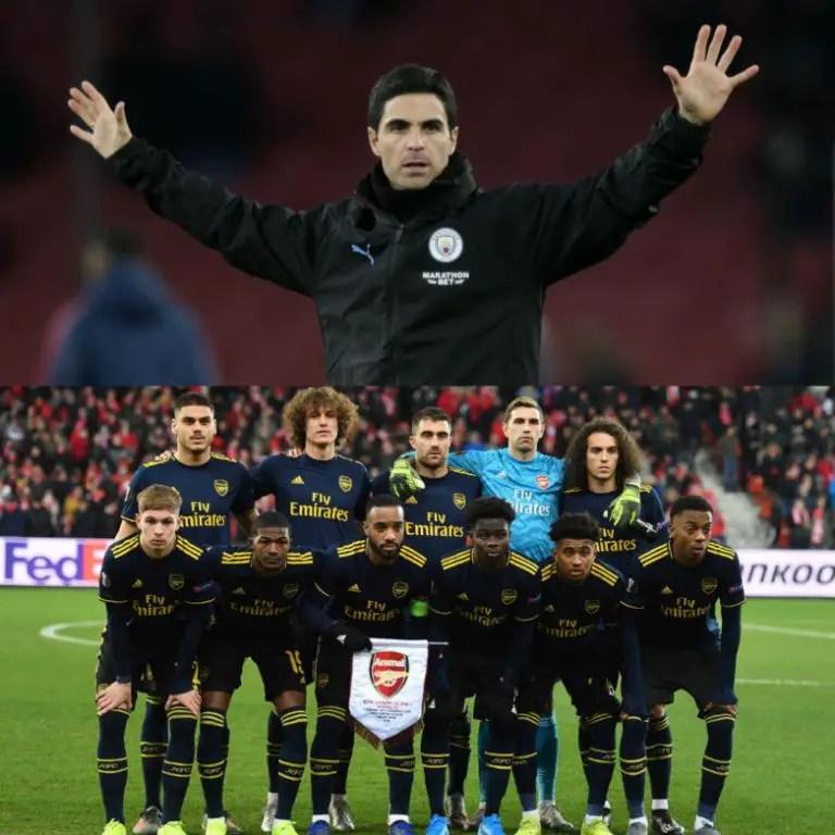 Kanu Not Comfortable With Arteta As Arsenal Substantive Head Coach