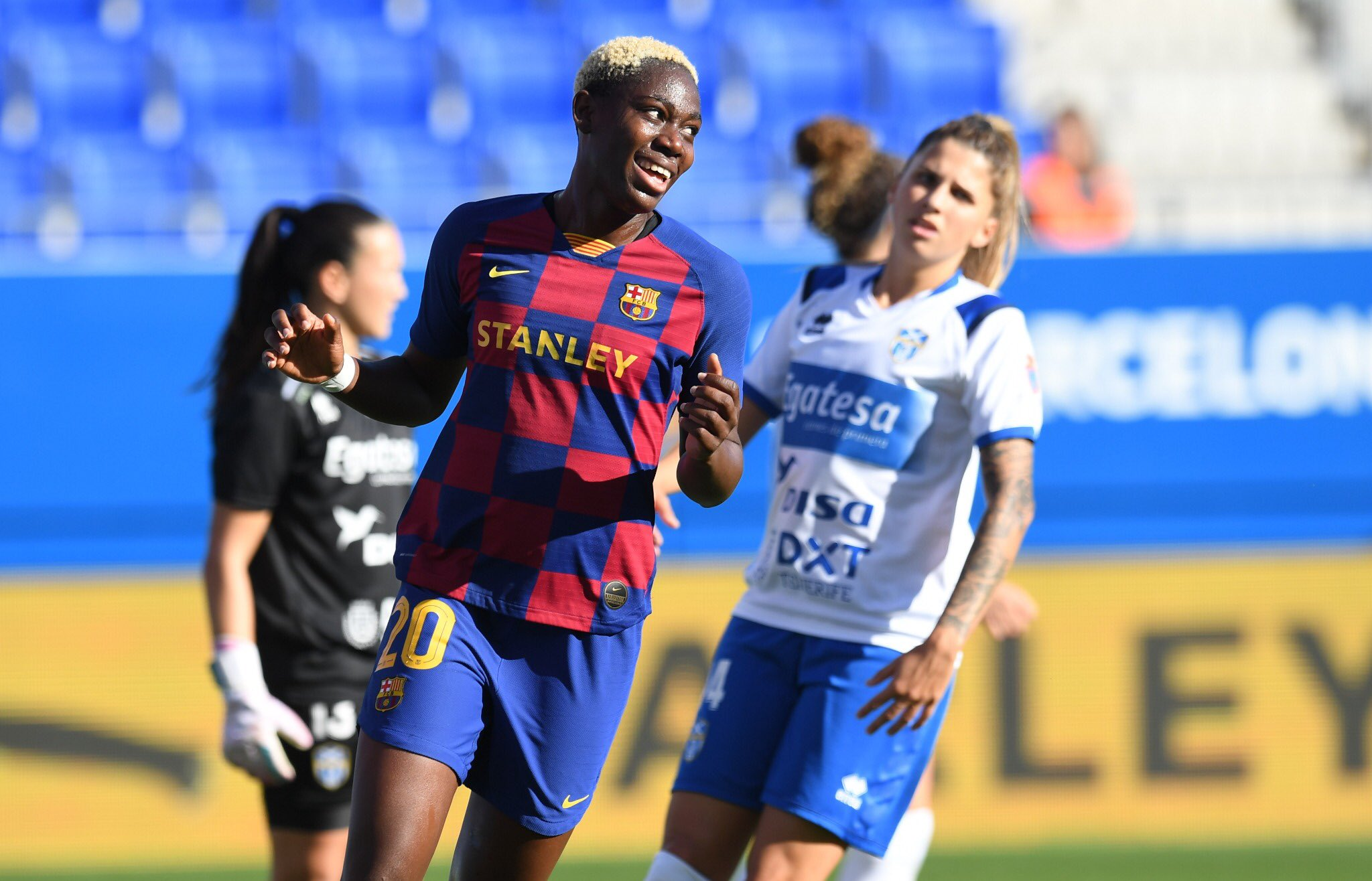 Barcelona Congratulate Oshoala For Making Final CAF Player of The Year Shortlist