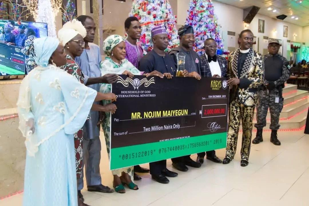 Maiyegun Lights up Lagos Again, Bags Prestigious Karis Award