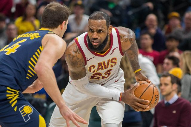 Don't Miss LeBron James Facing Pacers At Bankers Life Fieldhouse