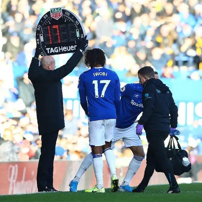 Ancelotti: Iwobi Will Resume  Training With Everton  Next Week