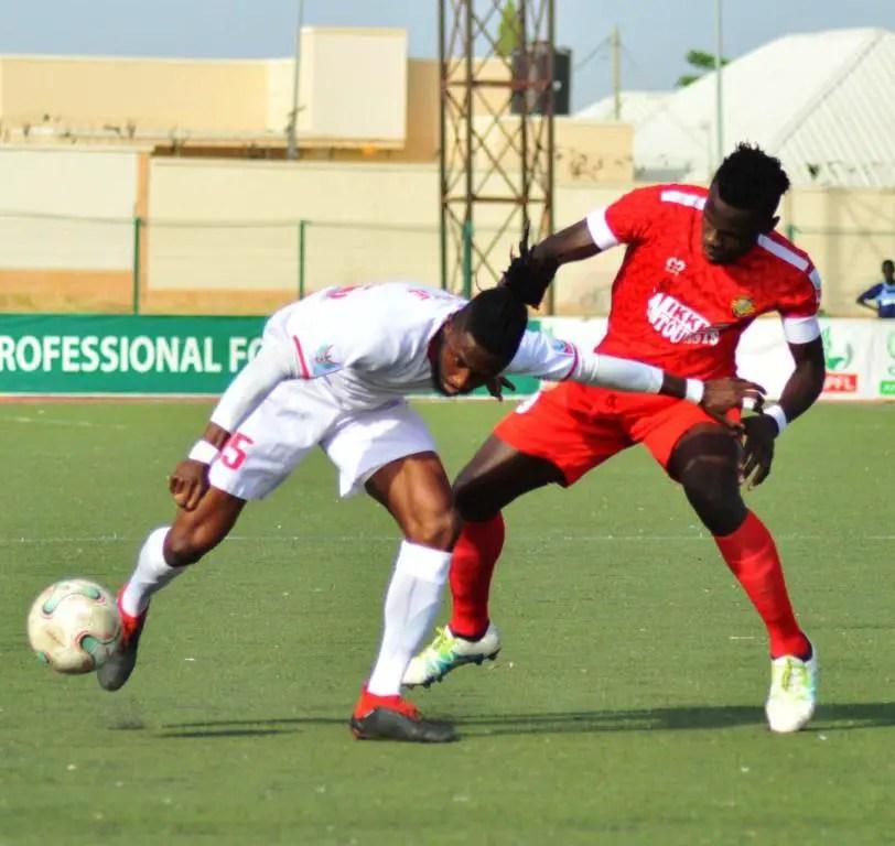 NPFL: Wikki Tourists Hold Enugu Rangers in Gombe