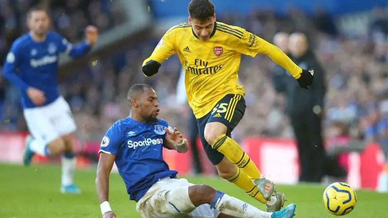 Iwobi Injured As Everton, Arsenal Share The Spoils At Goodison Park